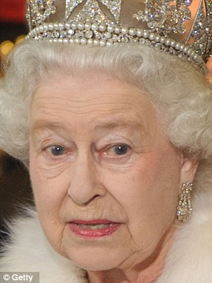 Queen Elizabeth II leaves the Houses of Parliament during the State Opening of Parliament on May 09, 2012