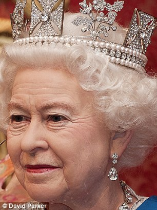 A new wax model of the Queen unveiled at Madame Tussauds in celebration of the Diamond Jubilee. Picture David Parker 14.5.12