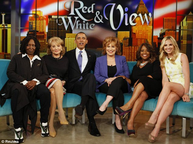 Interview: Barack Obama discussed gay marriage while appearing on The View