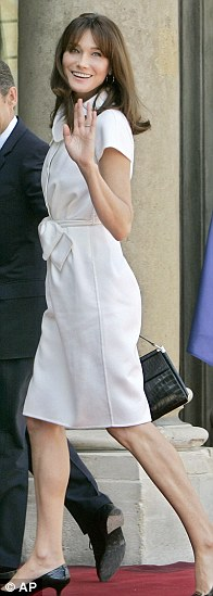 Looking sprightly in a summery dress in 2009