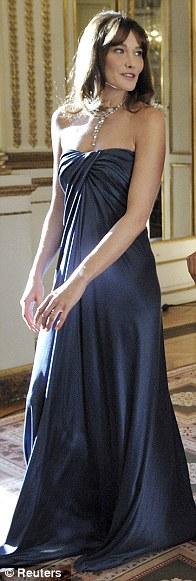 A ball at the Elysee palace, June 2009