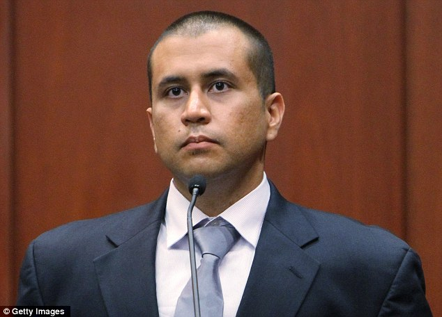 Accused: George Zimmerman sits on the stand during his bond hearing in a Seminole County courtroom on April 20, one week after second-degree murder charges were filed