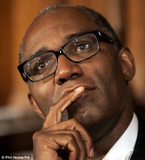 Sadness: Trevor Phillips, Chairman of the Commission for Racial Equality, said he regretted failing to challenge race rules