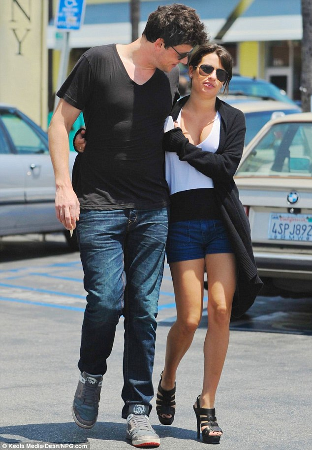 See something you like? Cory Monteith couldn't take his eyes off girlfriend Lea Michele as they step out for a romantic lunch date in West Hollywood over the weekend