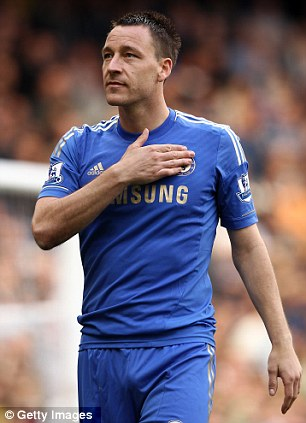 Selected: Terry is included in Hodgson's squad