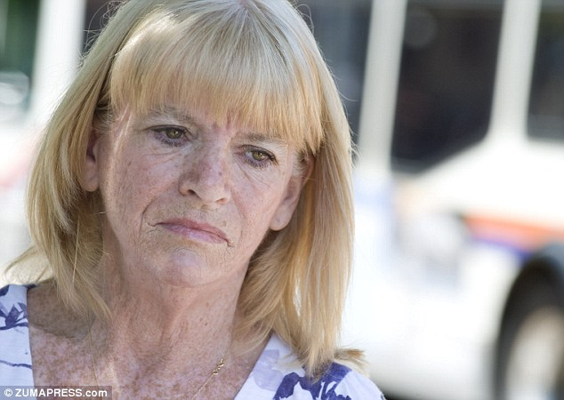 Seeking closure: Cathy Thomas, pictured last year, has settled with the city of Fullerton for $1million in the death of her son Kelly