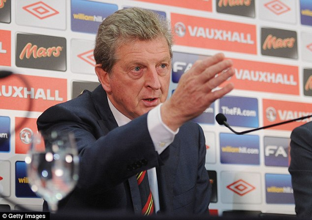 Calling the shots: Roy Hodgson has made his decision