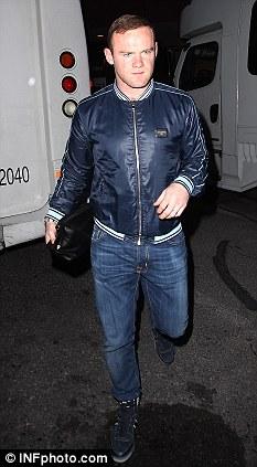 Wayne gambles on Vegas: Rooney arrives in Las Vegas for a short break before he meets up with his international teammates ahead of Euro 2012