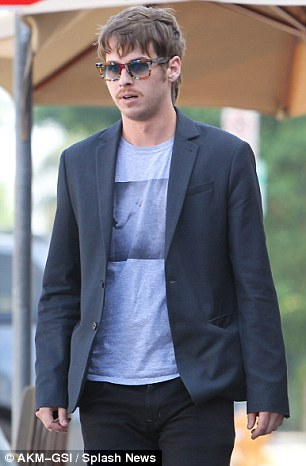 Is love in the air? Taylor Swift headed out for lunch with Foster The People frontman Mark Foster yesterday