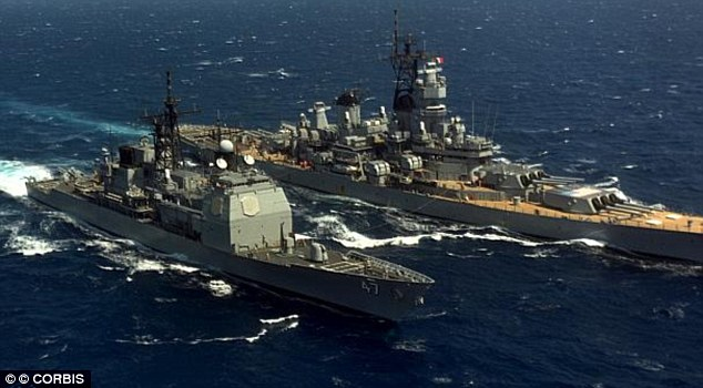 All at sea: Internet users will be able to locate the coordinates and identity of the U.S. Navy's fleet via a simple Google search