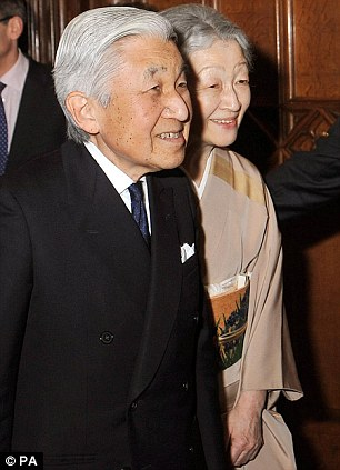 Emperor Akihito and Empress Michiko of Japan