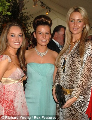 Footballers' wives Nicola Hart, Coleen Mcoughlin and Alex Curran
