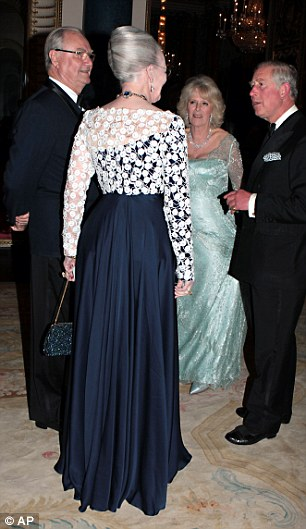 Queen Margarethe II of Denmark and Prince Henrik