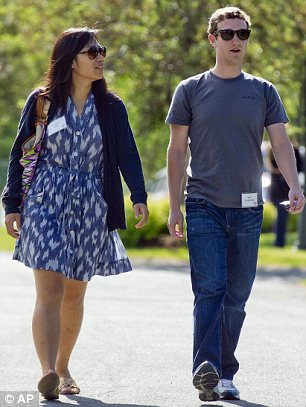 Mark Zuckerberg and Priscilla Chan
