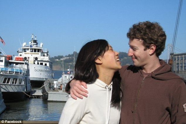 Affectionate: The couple have lived together since 2010 and first met while she was a freshman at Harvard in 2003