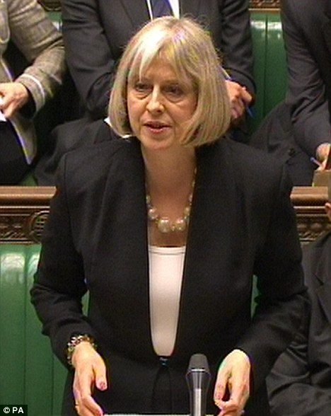 Revamp: Home Secretary Theresa May lit a bonfire of the last government¿s anti-social behaviour laws