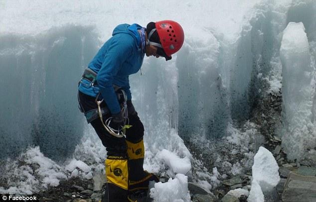 Fatal expedition: Mountain climber Shriya Shah had been updating her friends via Facebook of her progress