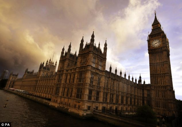 Trampled on: The sovereign power of the Houses of Parliament in Westminster has been called into question after the EU ruling