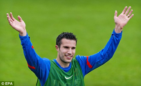 Will he stay or will he go? Robin van Persie must decide on his future this summer