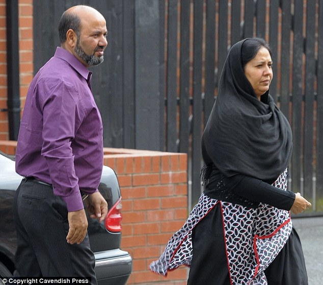 Accused: Iftikhar Ahmed, left, and Farzana Ahmed, right, are said to have killed their 17-year-old daughter because she had become 'Westernised'