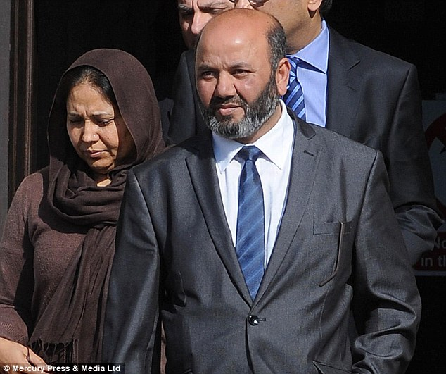 Accused of murder: Shafilea's mother Farzana Ahmed, left, and Iftikhar Ahmed, right, deny murder