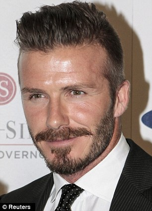Soccer star David Beckham arrives for the 27th Anniversary Sports Spectacular benefiting Cedars-Sinai Medical Genetics Institute