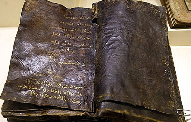 Ancient: The discovery of this leather-bound text will cause the collapse of Christianity worldwide, Iran has claimed