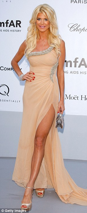 All that glitters: Victoria Silvstedt