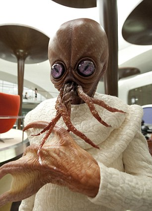Back to its alien-fighting best: Tentacles is one of many other world creatures to feature in the film