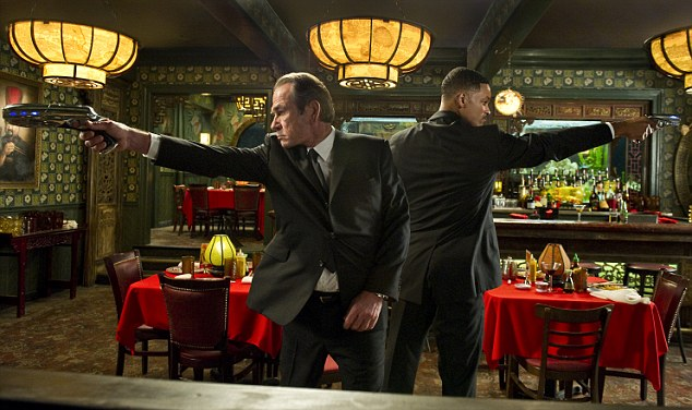 Firing on all cylinders: Tommy Lee Jones, left, and Will Smith in Men In Black III