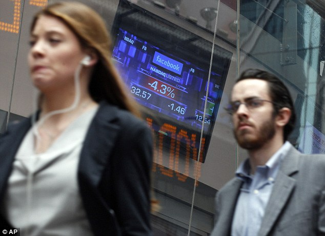 Tumbling: Citigroup lost around $20m during Facebook's botched IPO, a source says