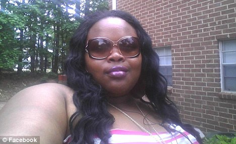Foodie: Lonneshia Shafaye Appling, 26, pictured, assaulted Piggly Wiggly staff who tried to stop her stealing bacon, cheese and chicken wings