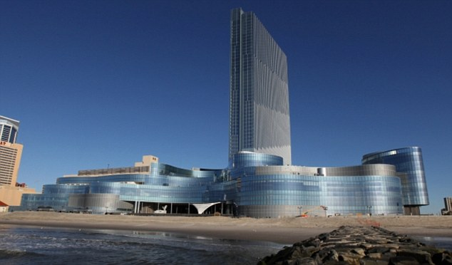 Extravagance: Beyonce's gigs coincided with the opening of the new $2.4billion Revel Resort & Casino