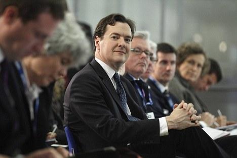 Birthday boy: George Osborne has turned 41