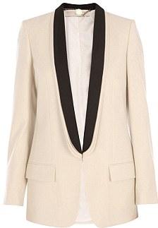 Cream silk, £995, Stella McCartney