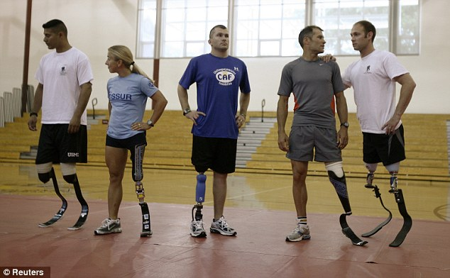 Rehabilitation: More than 1,600 veterans of Afghanistan and Iraq have lost limbs in service
