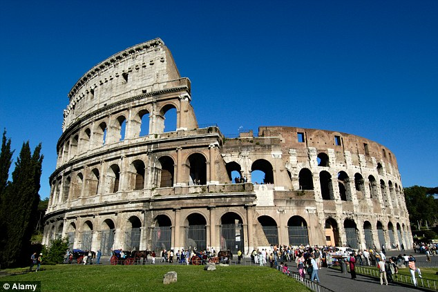 The Colosseum in Rome is one of the sights that Priscilla Chan and Mark Zuckerberg have visited