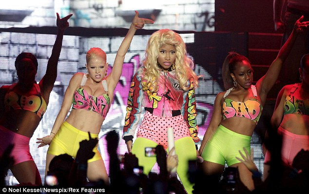 Concert: The two students had been to a concert for U.S. rapper Nicki Minaj before they met the men. It is not clear whether the suspects were performers with Minaj