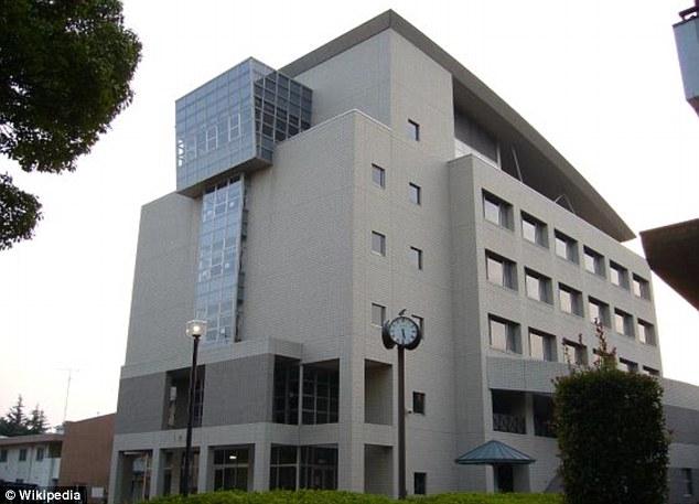 School: Ms Furlong was on a study abroad program at the Takasaki City University of Economics, pictured