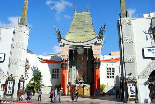 An exterior shot of Grauman's Chinese Theatre in Los Angeles