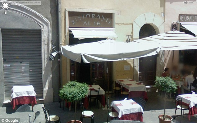 Venue: Zuckerberg, 28, and Priscilla Chan, 27, were spotted having lunch a Kosher restaurant called Nonna Betta in Roma's Jewish Ghetto