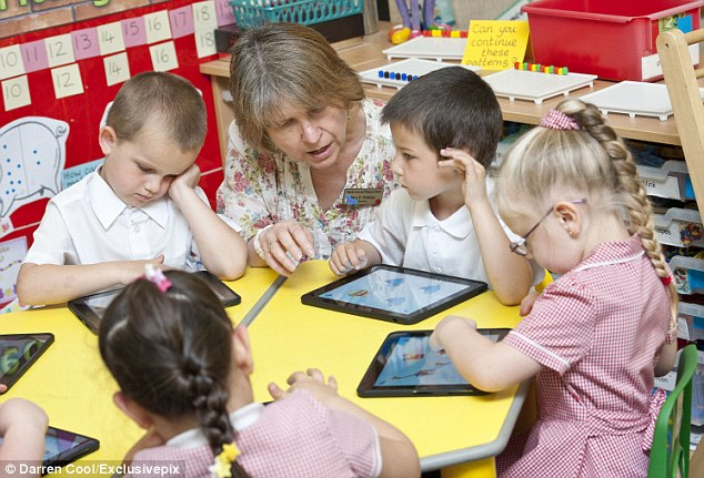 Thought: The school spent £13,000 on 32 of the expensive Apple tablet devices