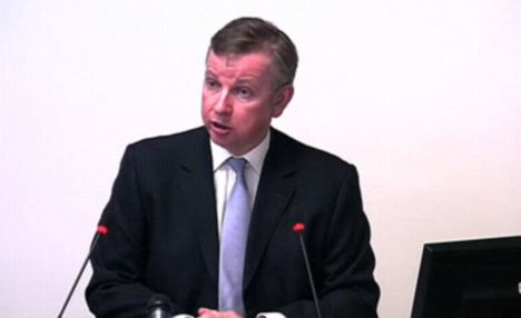 Talents: Michael Gove is an excellent media performer, and appeals to the Tory grassroots