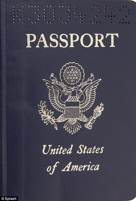 Passport to success: Whitney Houston used this document to fly around the world early in her career
