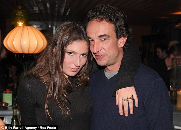 Former flame: Sarkozy, the half brother of former French president Nicolas Sarkozy, broke up with actress Stella Schnabel, pictured, in March