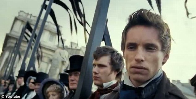 All-star cast: The film also stars handsome My Week With Marilyn actor Eddie Redmayne