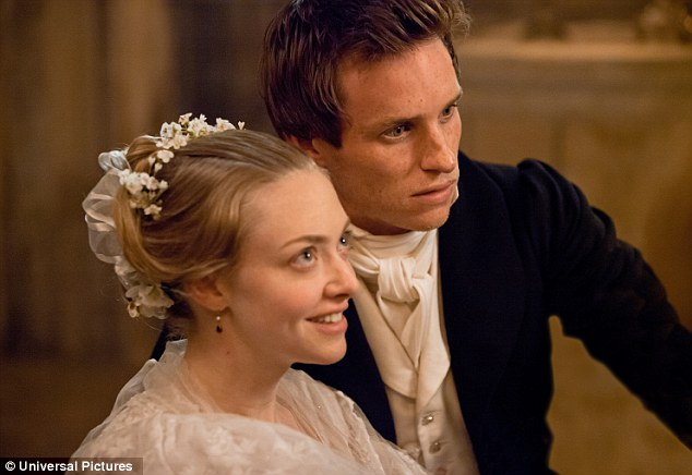 Beauty in a bonnet: Amanda Seyfried plays Fantine's young daughter, Cosette
