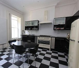 Big pad: The home has over 2,500 square feet and has been renovated in recent years to a high standard