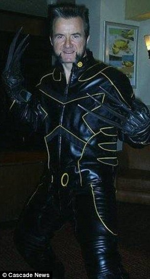 Wolverine impersonator: James Lockless, 50, who died after wrapping himself in cling film and a red nylon sheet