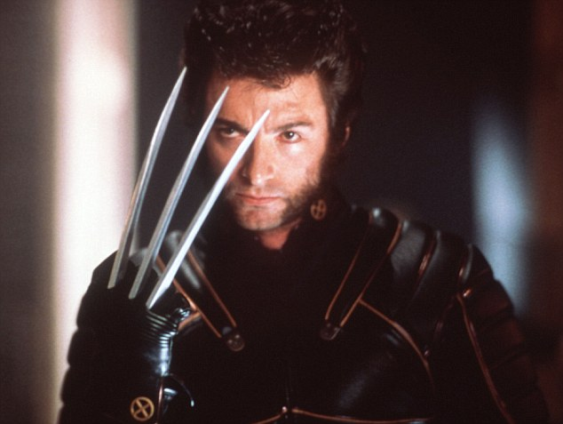 'Lookalike': James Lockless impersonated Wolverine from the X-Men films (pictured)